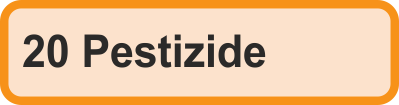 20 Pestizide
